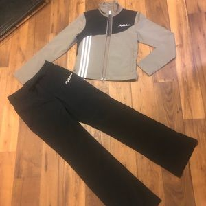 Adidas Track Jacket & Pants (XS) gently used!🏃‍♀️